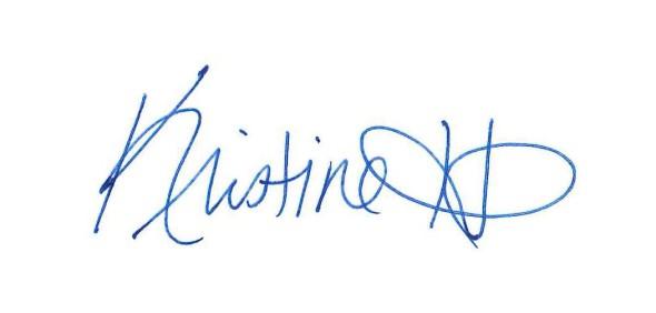 Kristine Hull Signature